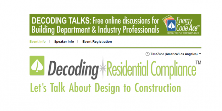 TRAINING: Decoding Residential Compliance Webinars