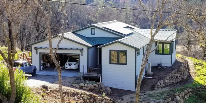 Advanced Energy Rebuild's First Completed Home
